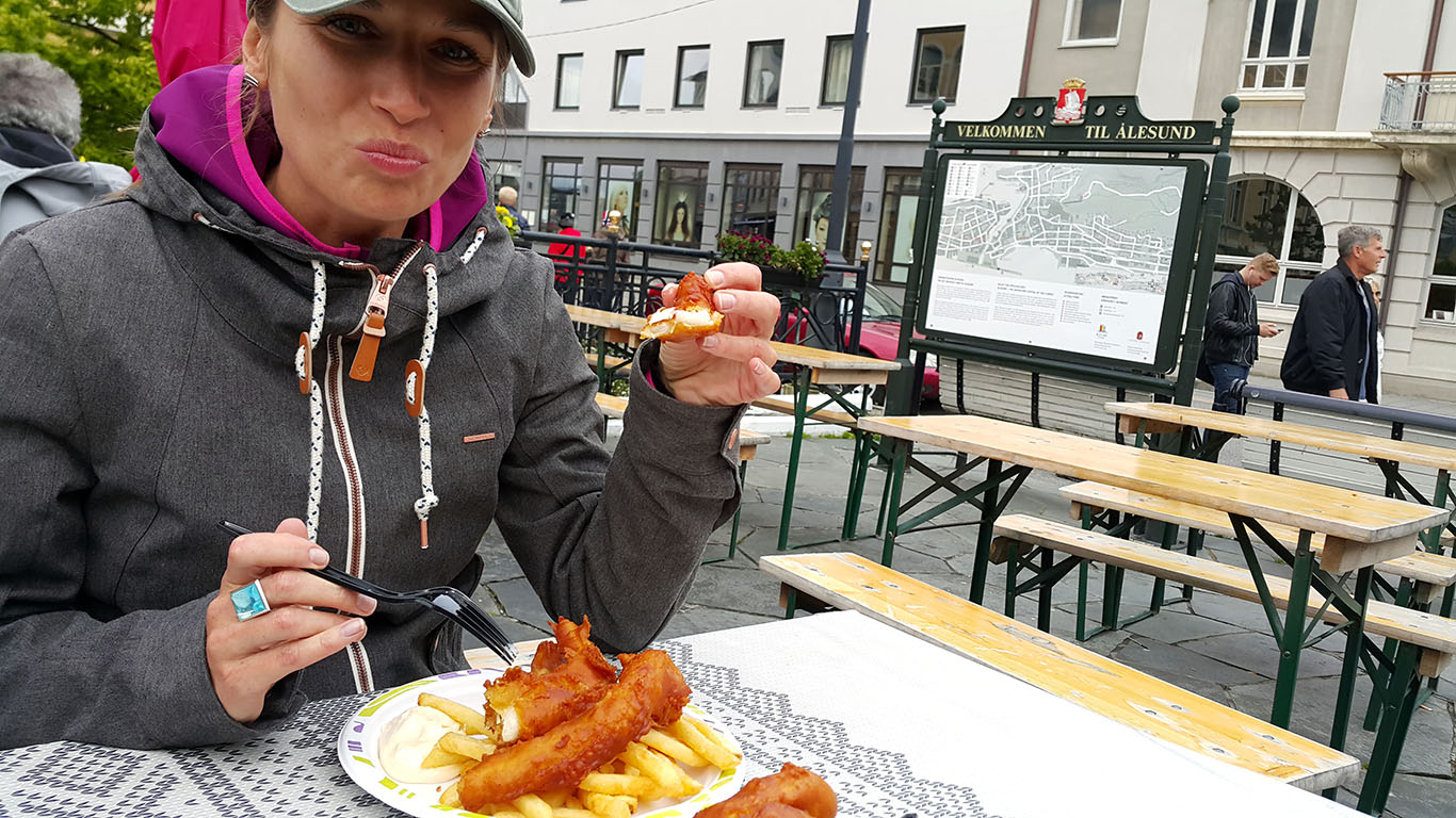 Fisf&chips, Norwegia