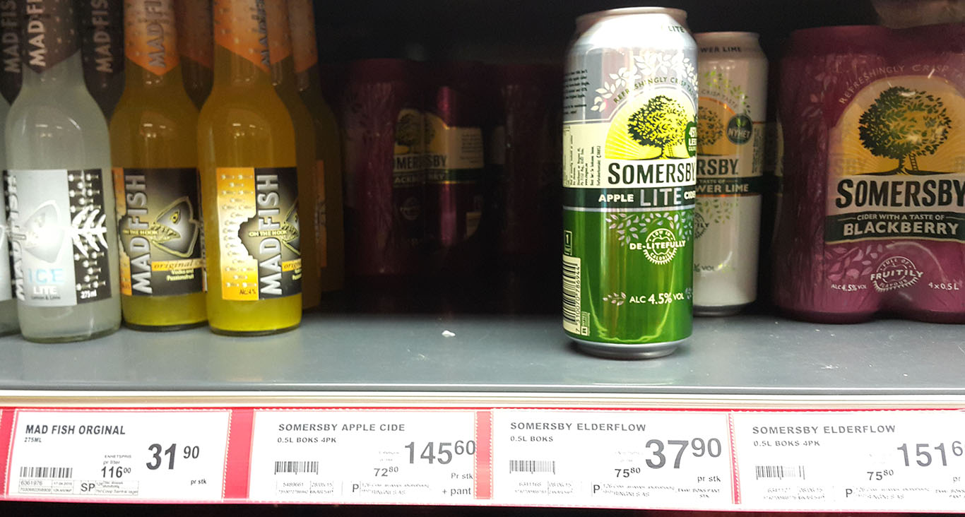 Sommersby, cena, Norwegia