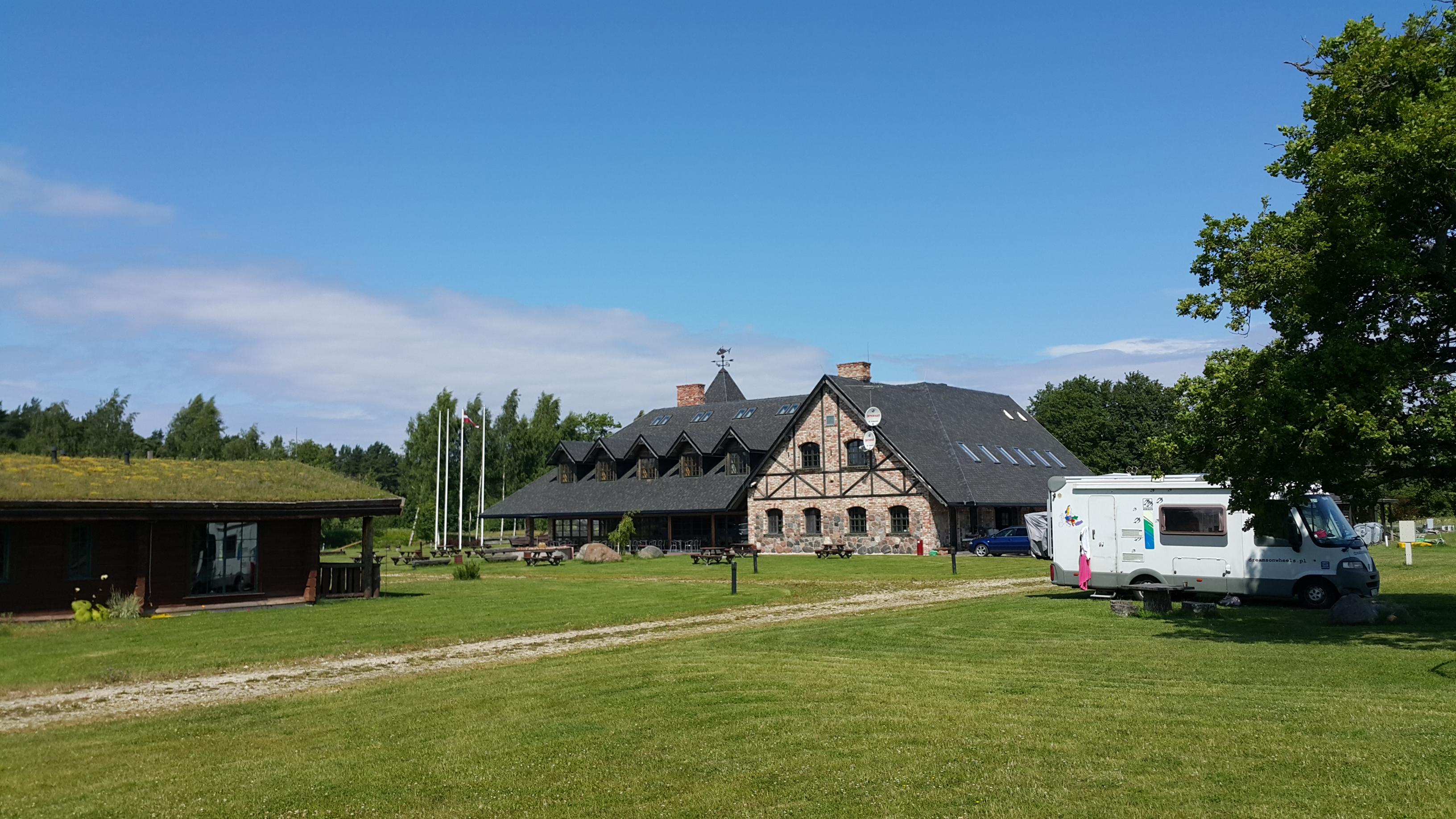 Łotwa kemping