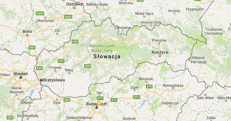 Kamperem przez Słowację